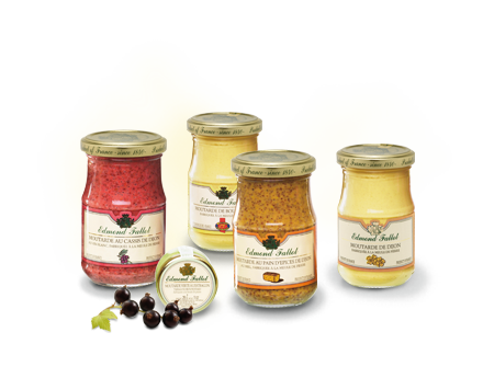 Our flavoured mustards