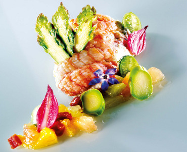 Fresh Crayfish Delight, Virgin Citrus and Tarragon Mustard