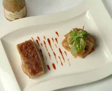 费洛(FALLOT)香料蜂蜜蛋糕芥末味脆皮鳕鱼